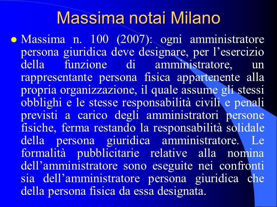 Massima notai Milano