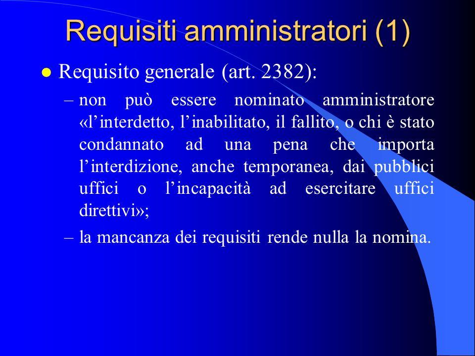Requisiti amministratori (1)