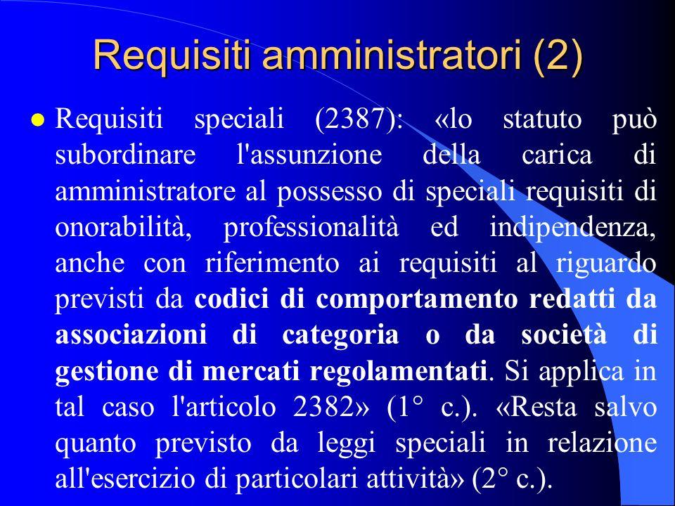 Requisiti amministratori (2)