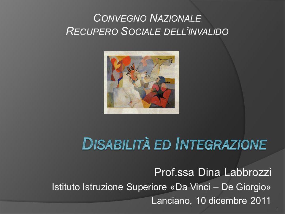 Disabilità ed Integrazione