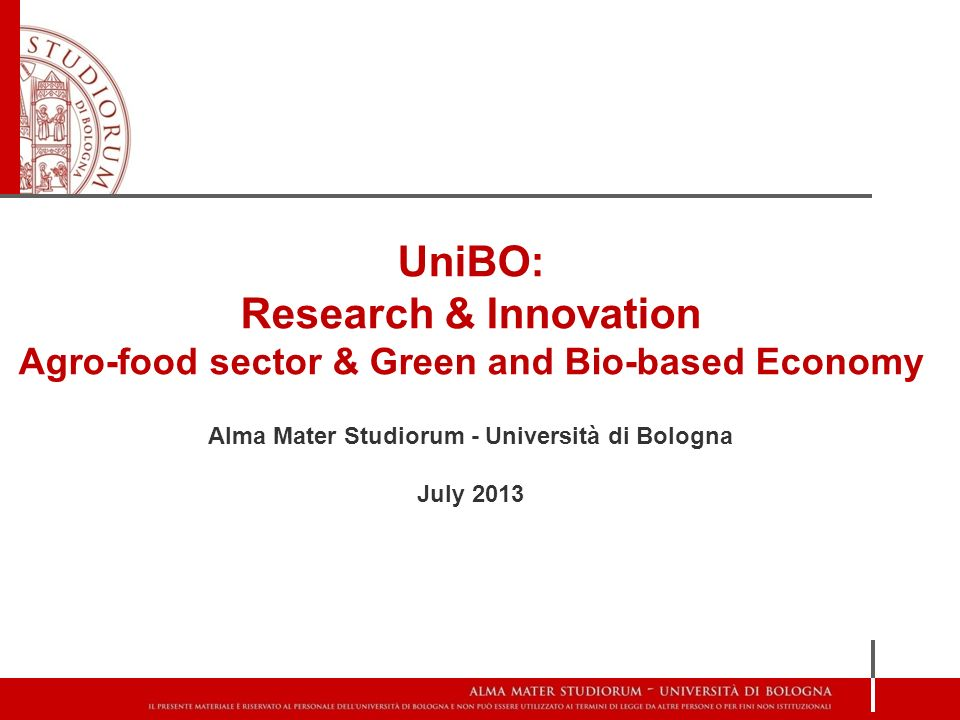 UniBO: Research & Innovation