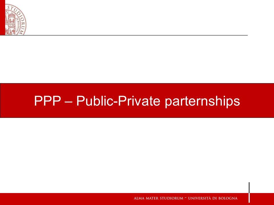 PPP – Public-Private parternships