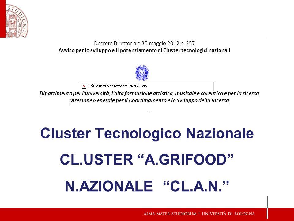 Decreto Direttoriale 30 maggio 2012 n