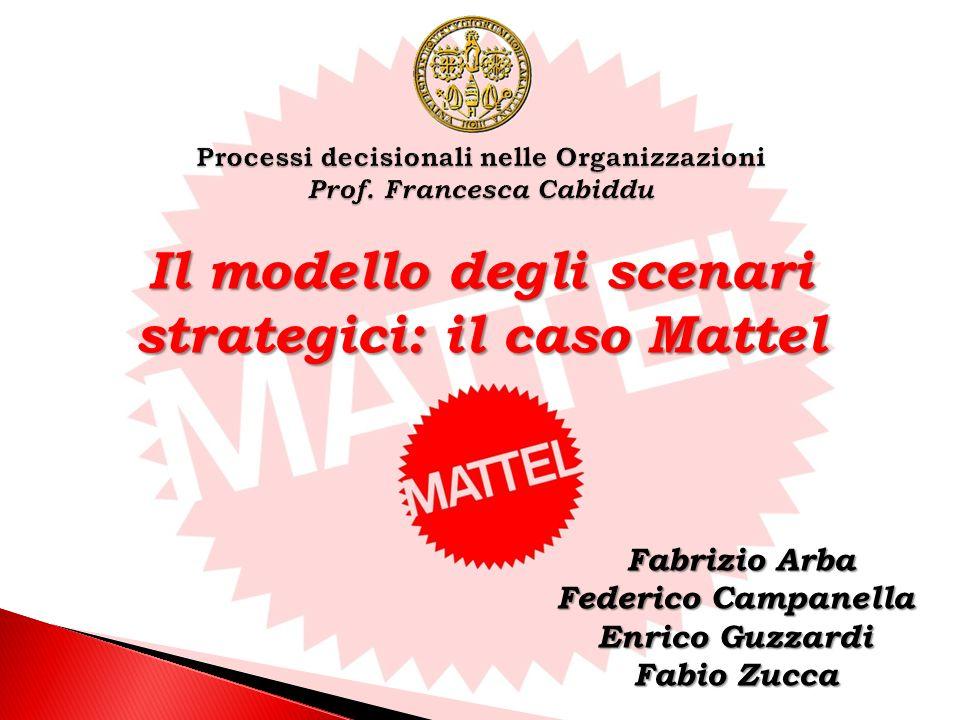 Processi decisionali nelle Organizzazioni Prof. Francesca Cabiddu