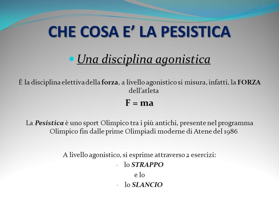 CHE COSA E' LA PESISTICA