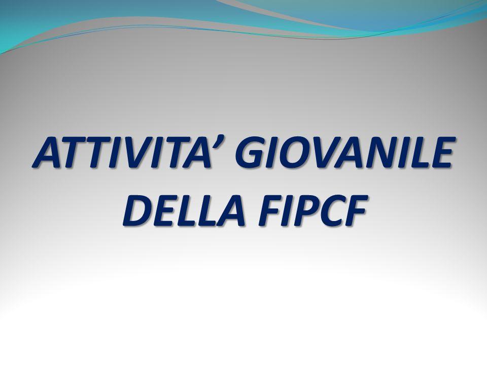 ATTIVITA' GIOVANILE DELLA FIPCF