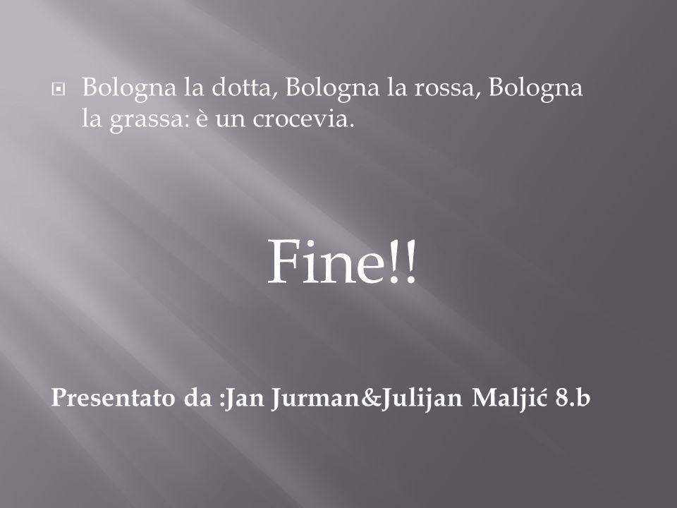 Bologna la dotta, Bologna la rossa, Bologna la grassa: è un crocevia.