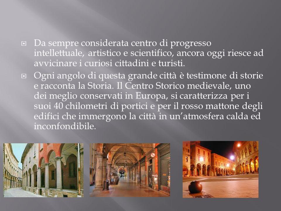 Da sempre considerata centro di progresso intellettuale, artistico e scientifico, ancora oggi riesce ad avvicinare i curiosi cittadini e turisti.