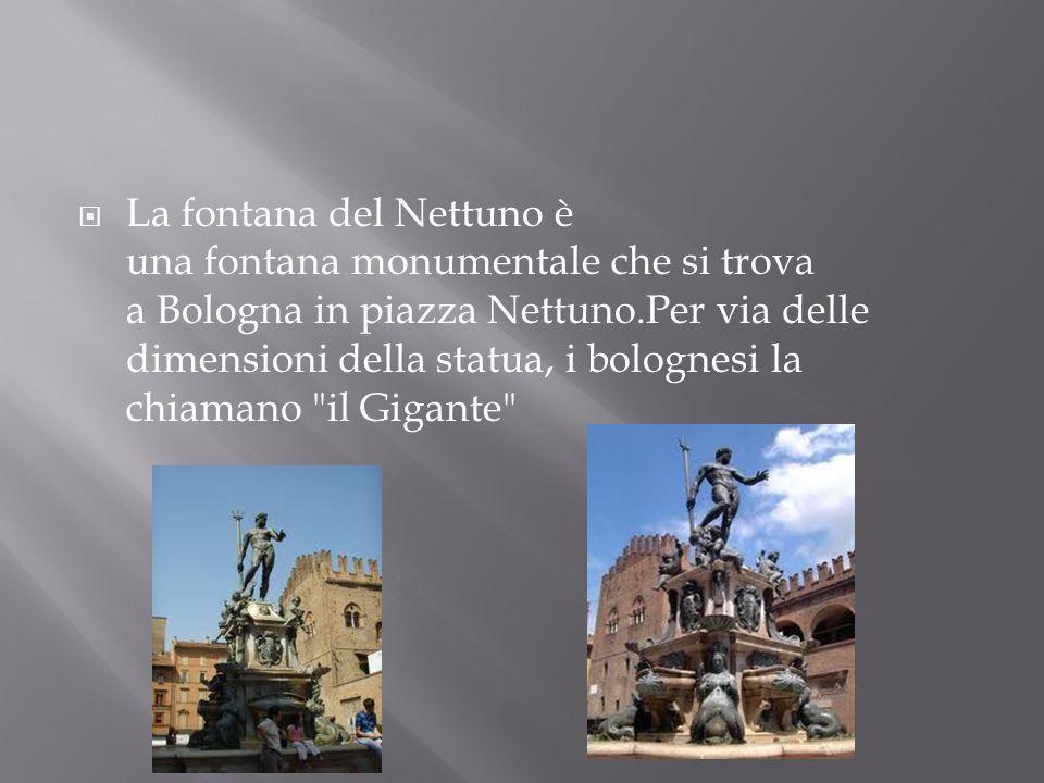La fontana del Nettuno è una fontana monumentale che si trova a Bologna in piazza Nettuno.Per via delle dimensioni della statua, i bolognesi la chiamano il Gigante