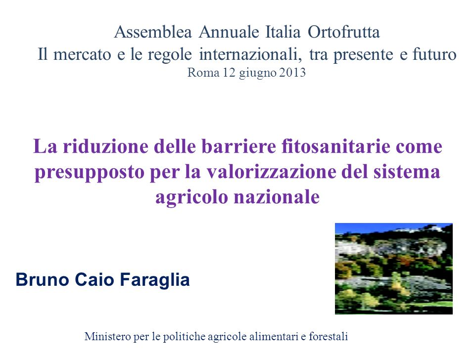 Assemblea Annuale Italia Ortofrutta