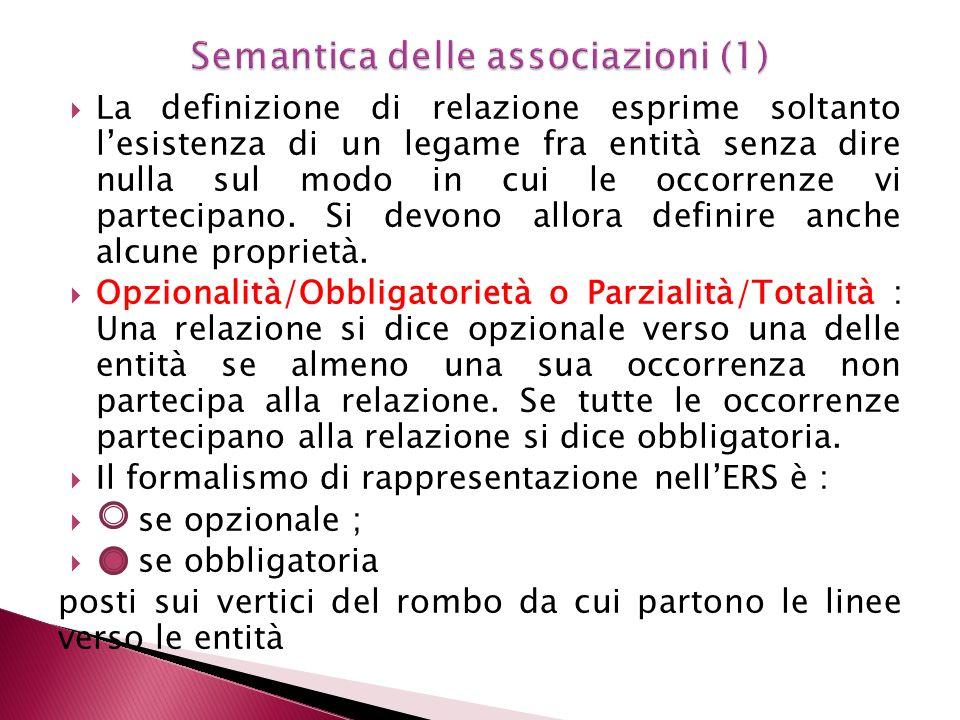 Semantica delle associazioni (1)