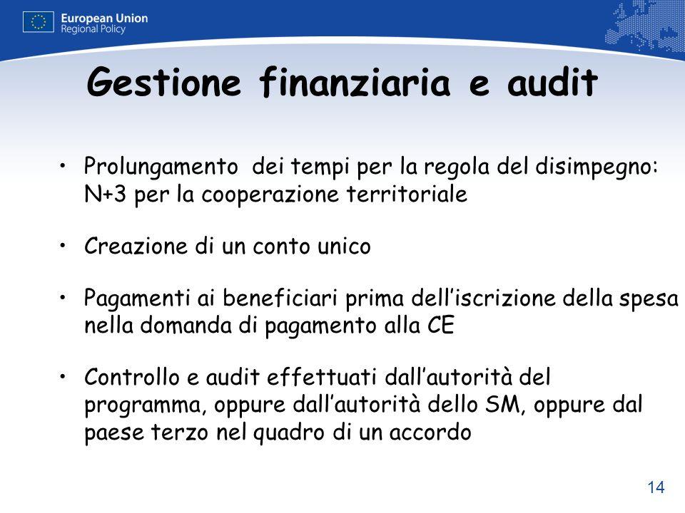 Gestione finanziaria e audit