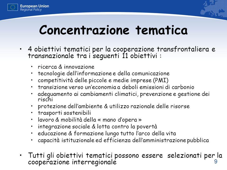 Concentrazione tematica