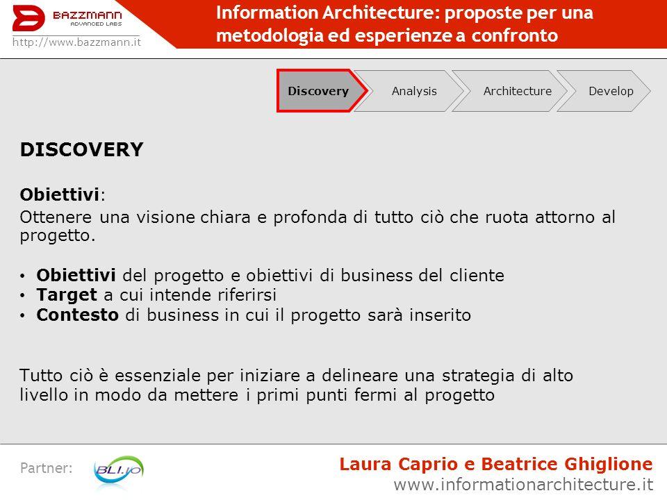 Information Architecture: proposte per una