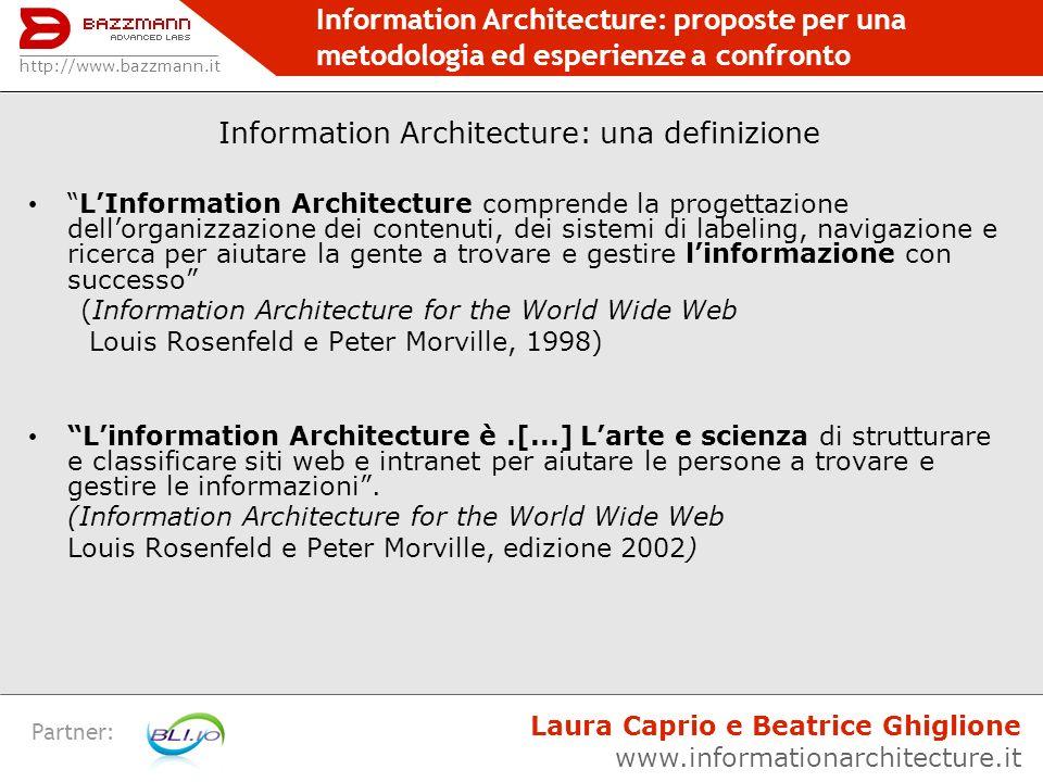 Information Architecture: una definizione
