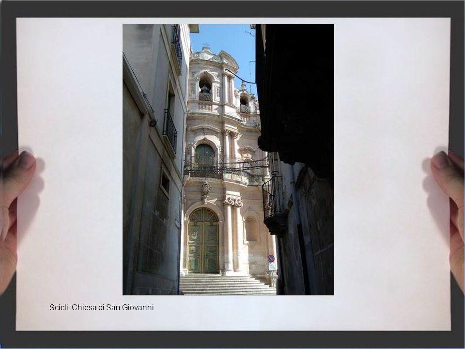 Scicli. Chiesa di San Giovanni