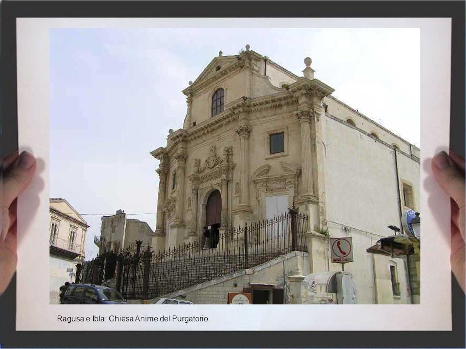 Ragusa e Ibla: Chiesa Anime del Purgatorio