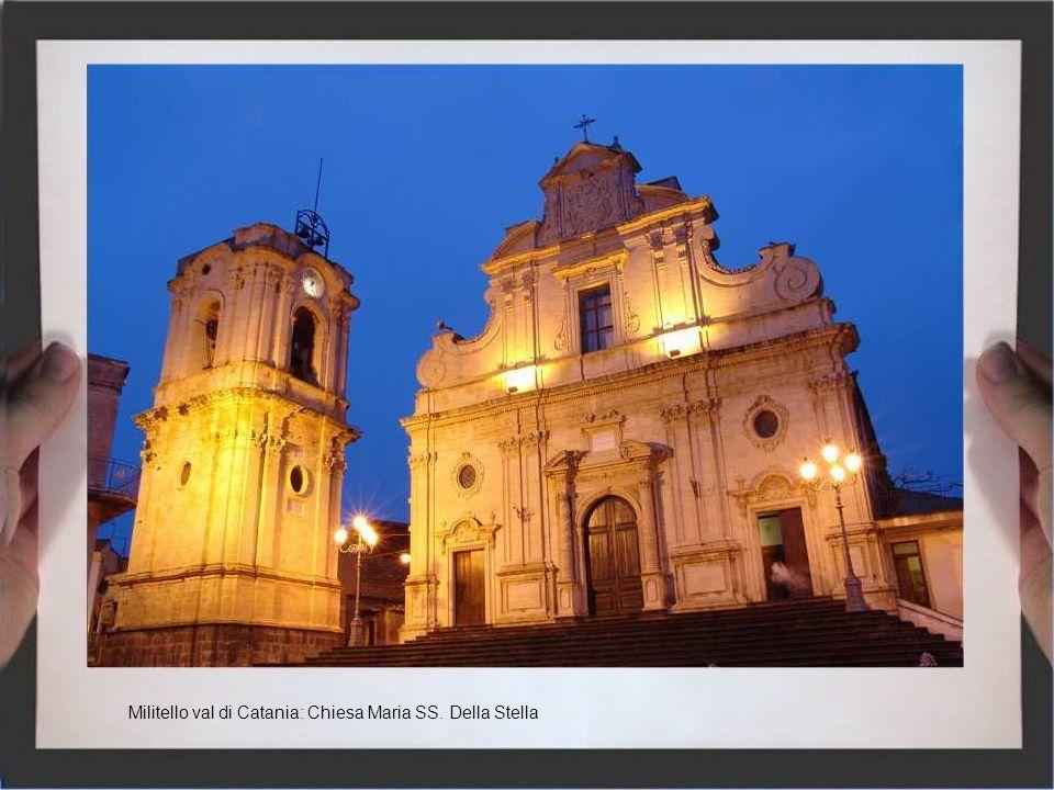 Militello val di Catania: Chiesa Maria SS. Della Stella