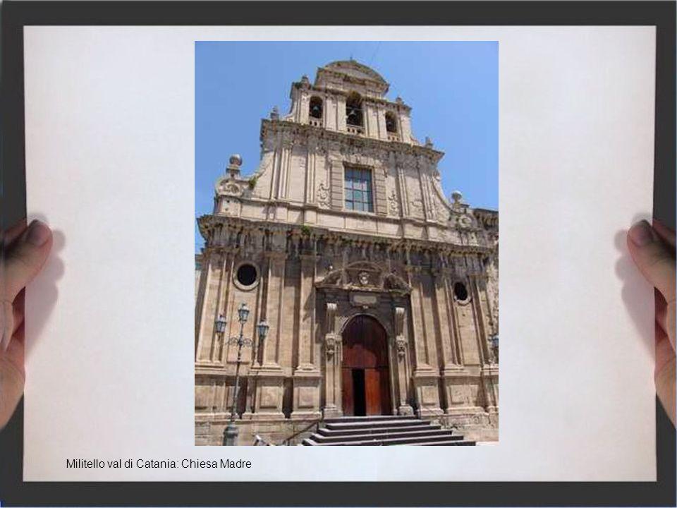 Militello val di Catania: Chiesa Madre