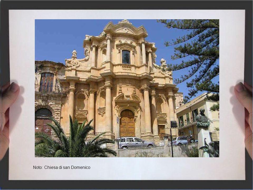 Noto: Chiesa di san Domenico