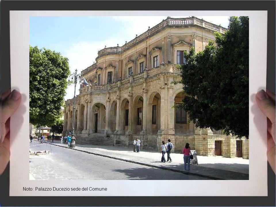Noto: Palazzo Ducezio sede del Comune