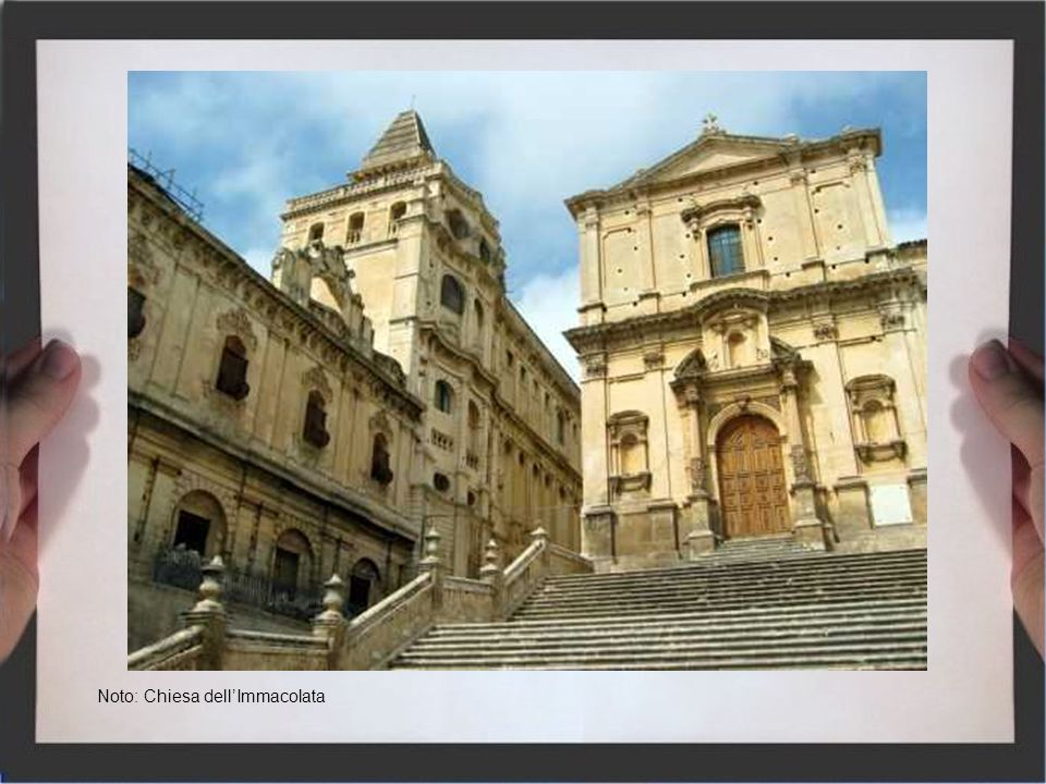 Noto: Chiesa dell'Immacolata