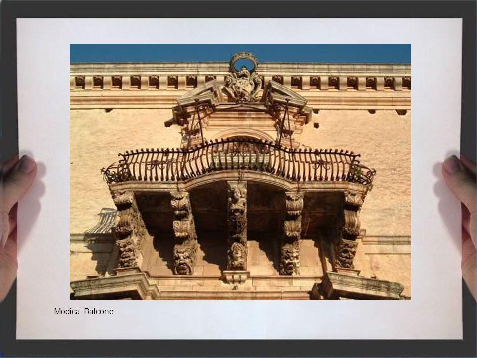 Modica: Balcone