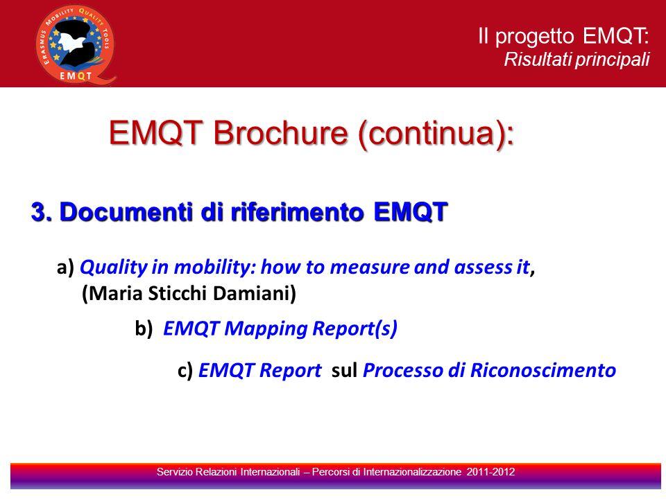 EMQT Brochure (continua):