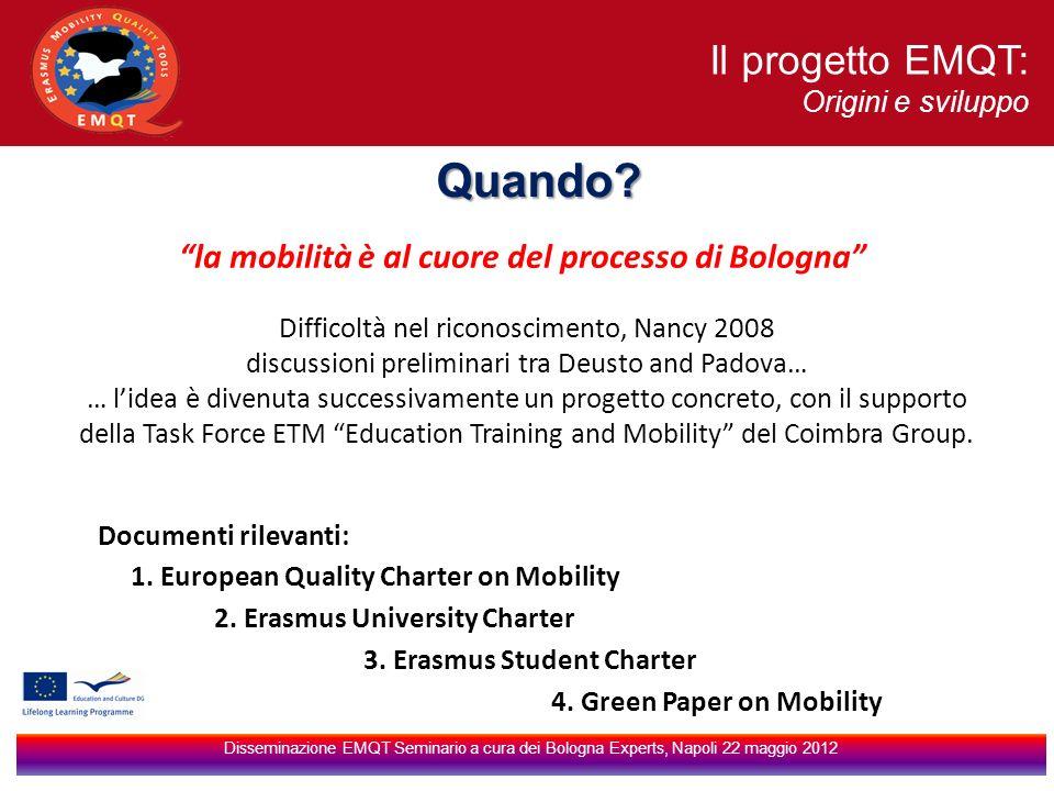 la mobilità è al cuore del processo di Bologna
