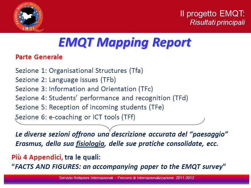 EMQT Mapping Report Il progetto EMQT: Parte Generale