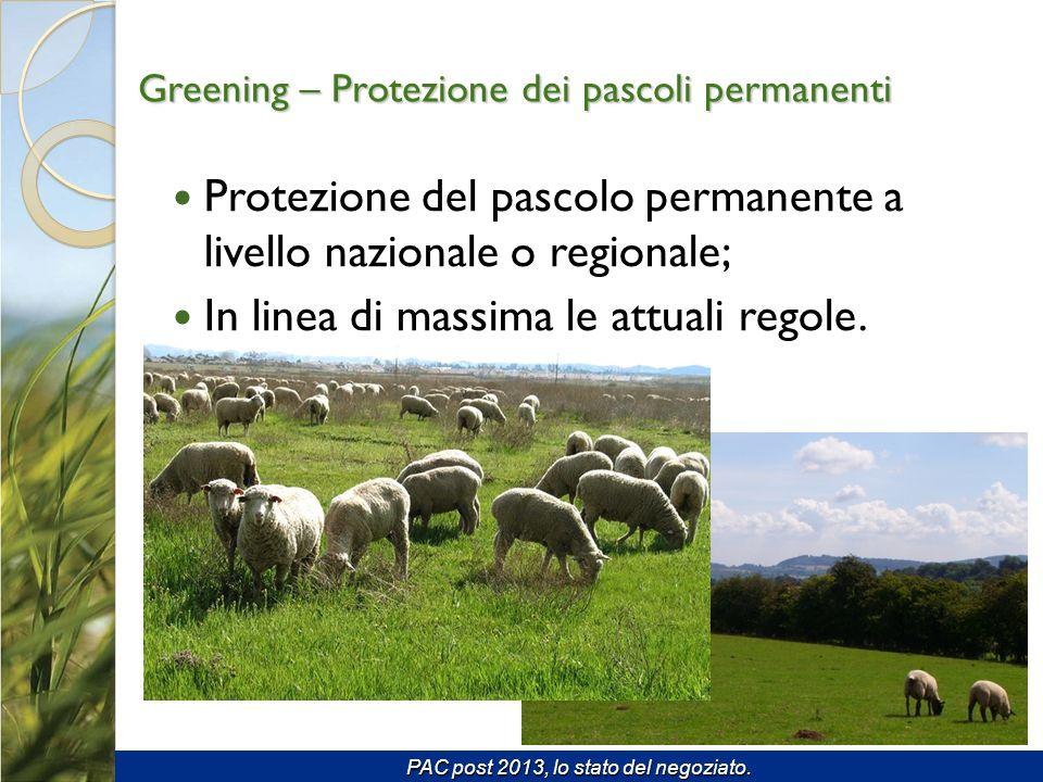 Greening – Protezione dei pascoli permanenti