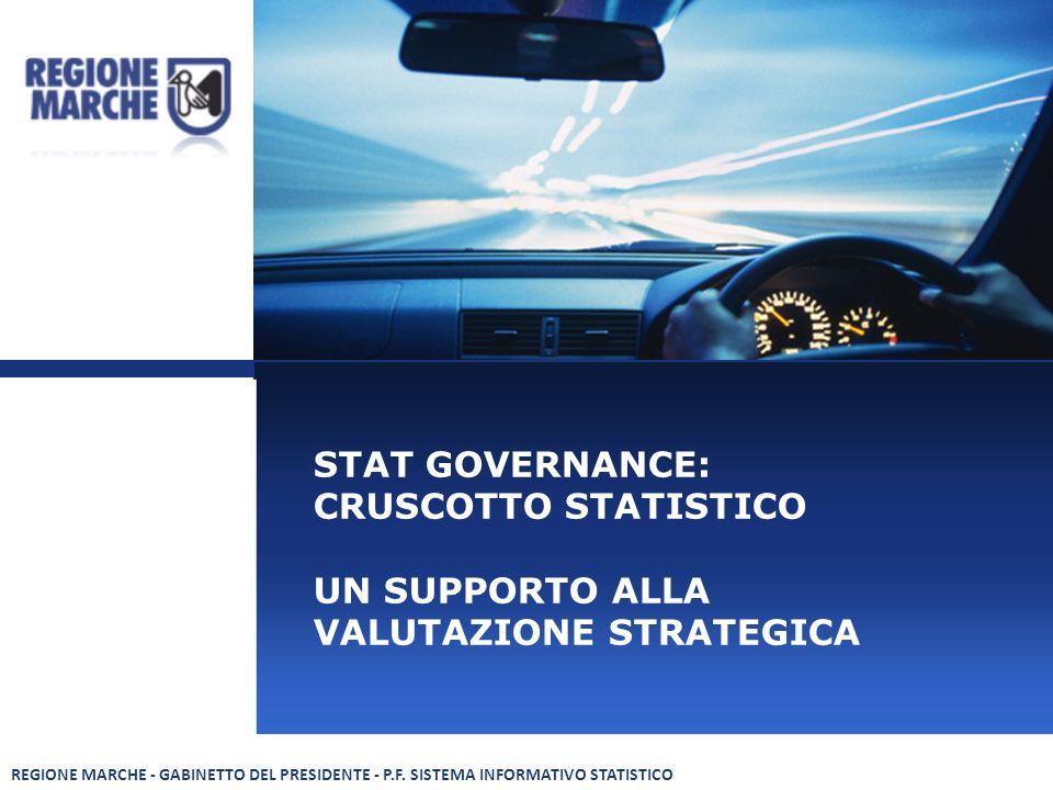 STAT GOVERNANCE: CRUSCOTTO STATISTICO UN SUPPORTO ALLA VALUTAZIONE STRATEGICA