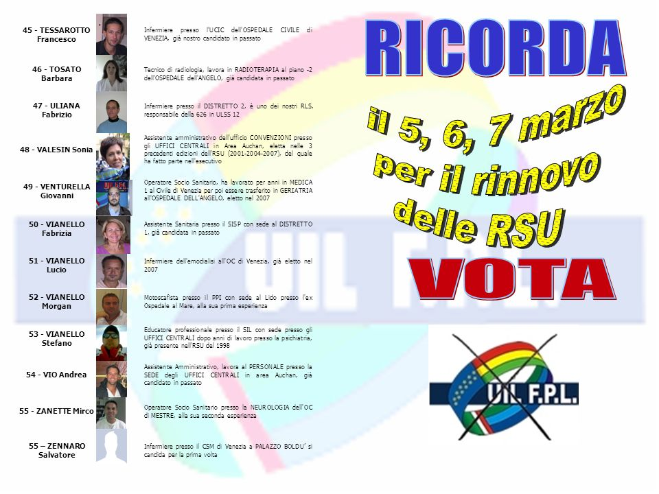 45 - TESSAROTTO Francesco