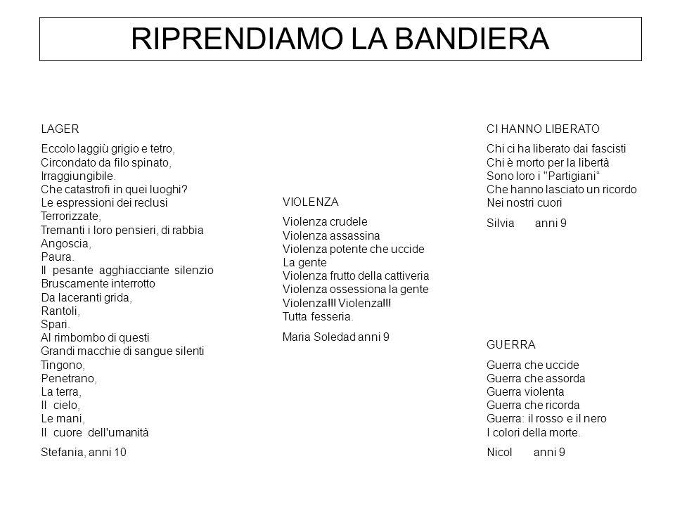 RIPRENDIAMO LA BANDIERA