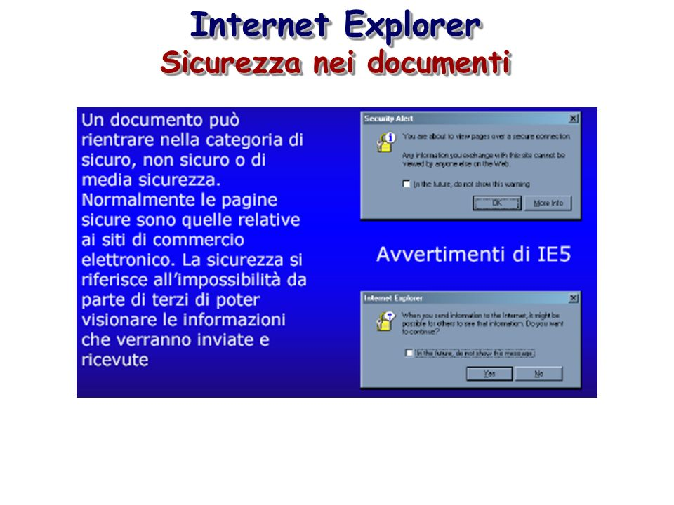 Sicurezza nei documenti