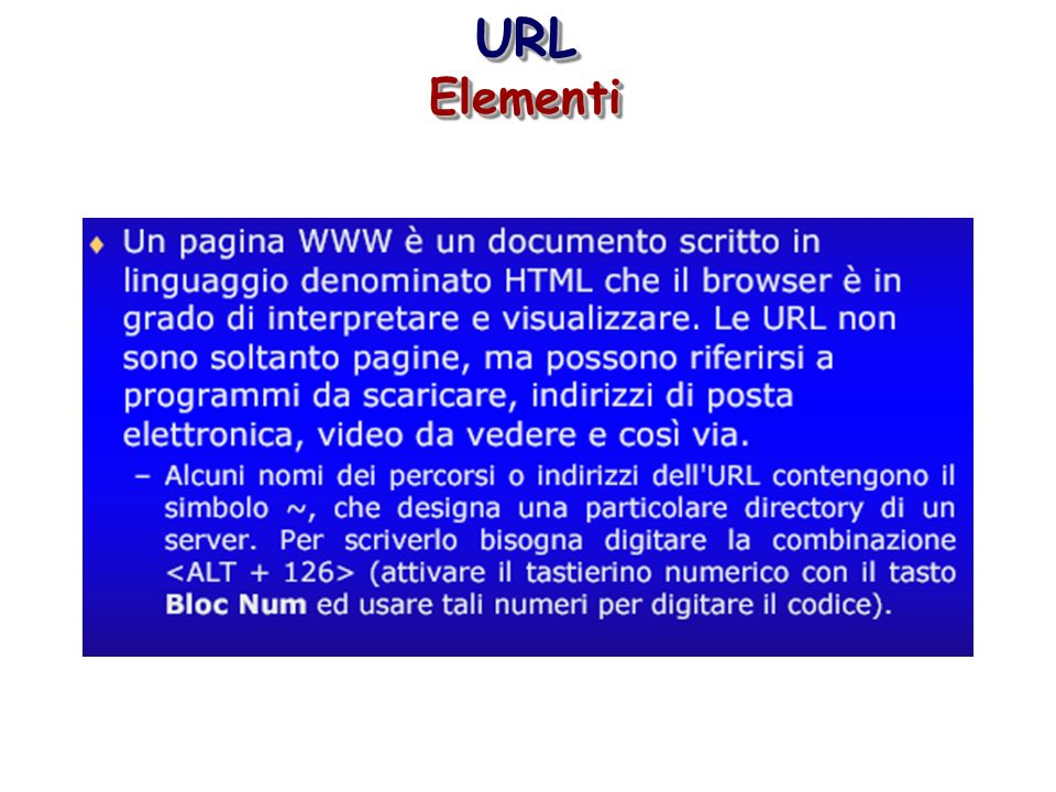 URL Elementi