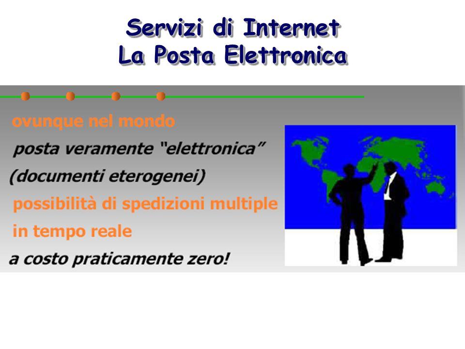 Servizi di Internet La Posta Elettronica