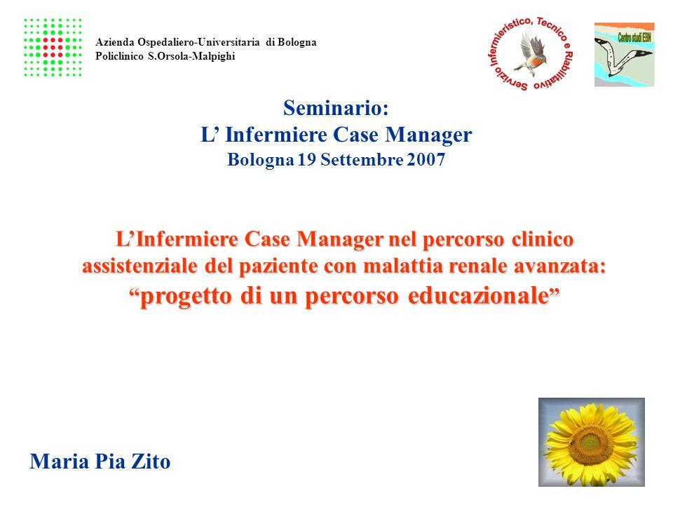L' Infermiere Case Manager