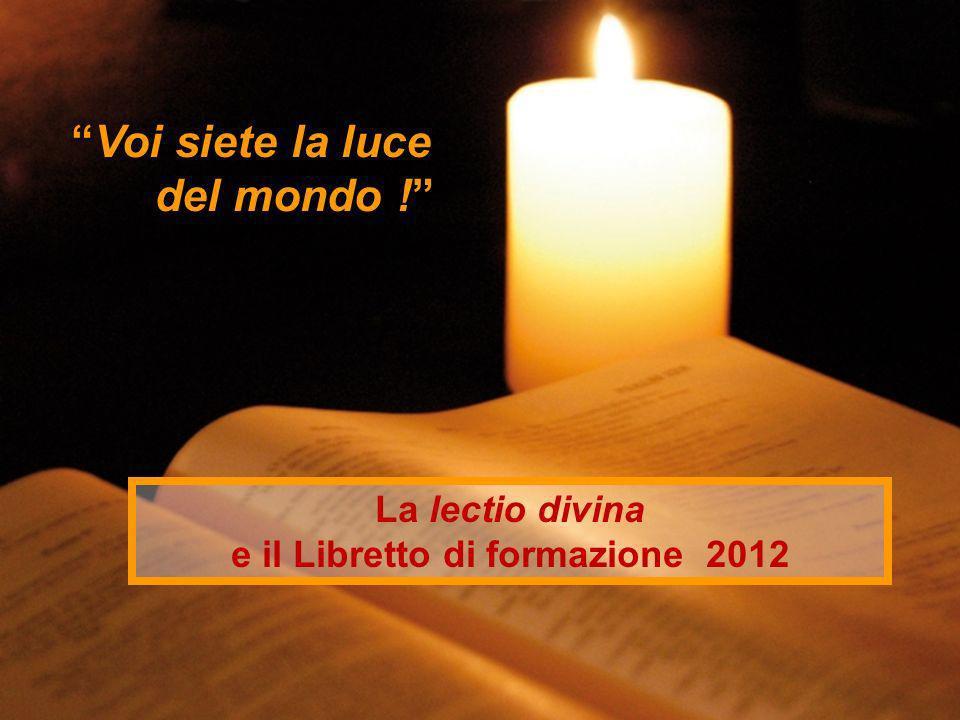 e il Libretto di formazione 2012