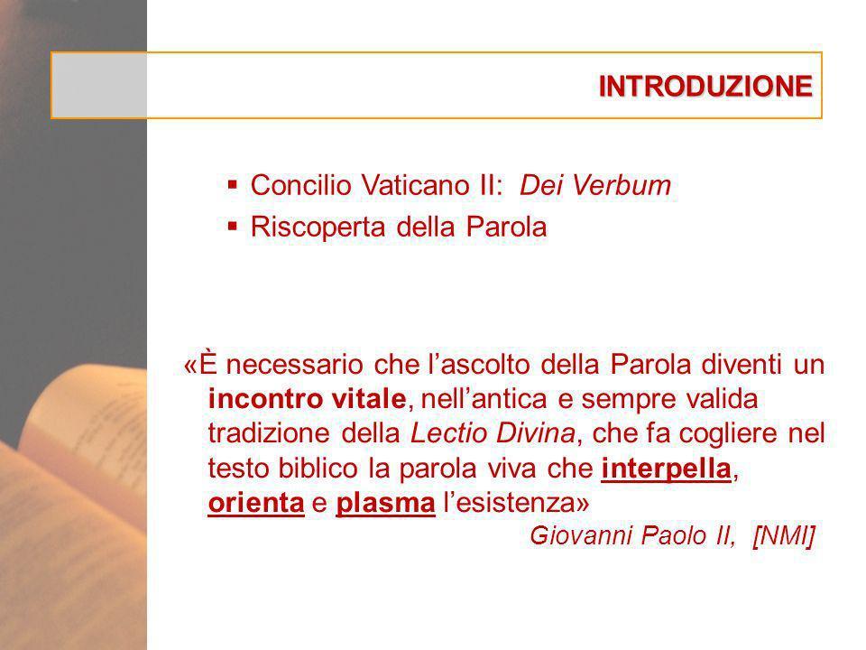 Concilio Vaticano II: Dei Verbum Riscoperta della Parola