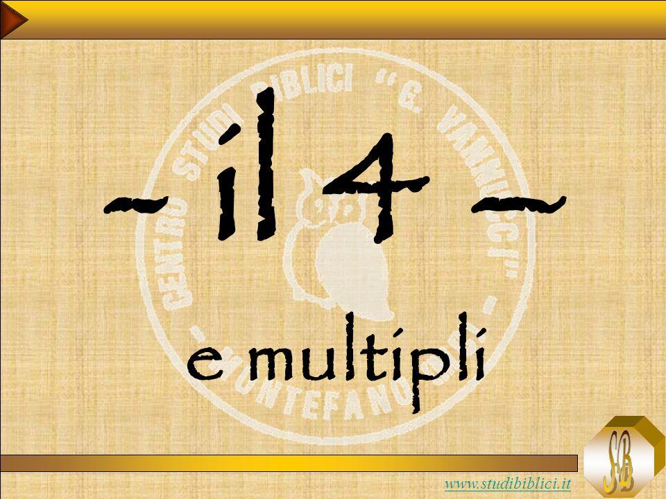- il 4 – e multipli