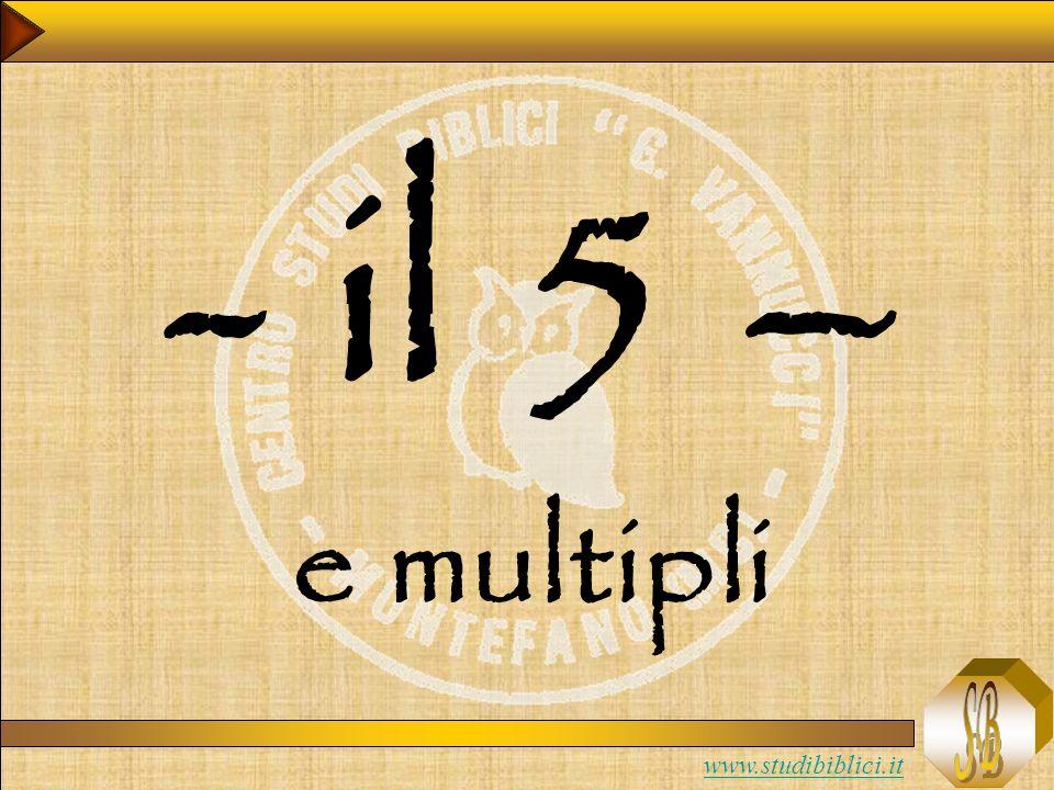 - il 5 – e multipli