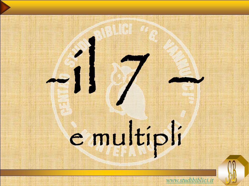 il 7 – e multipli