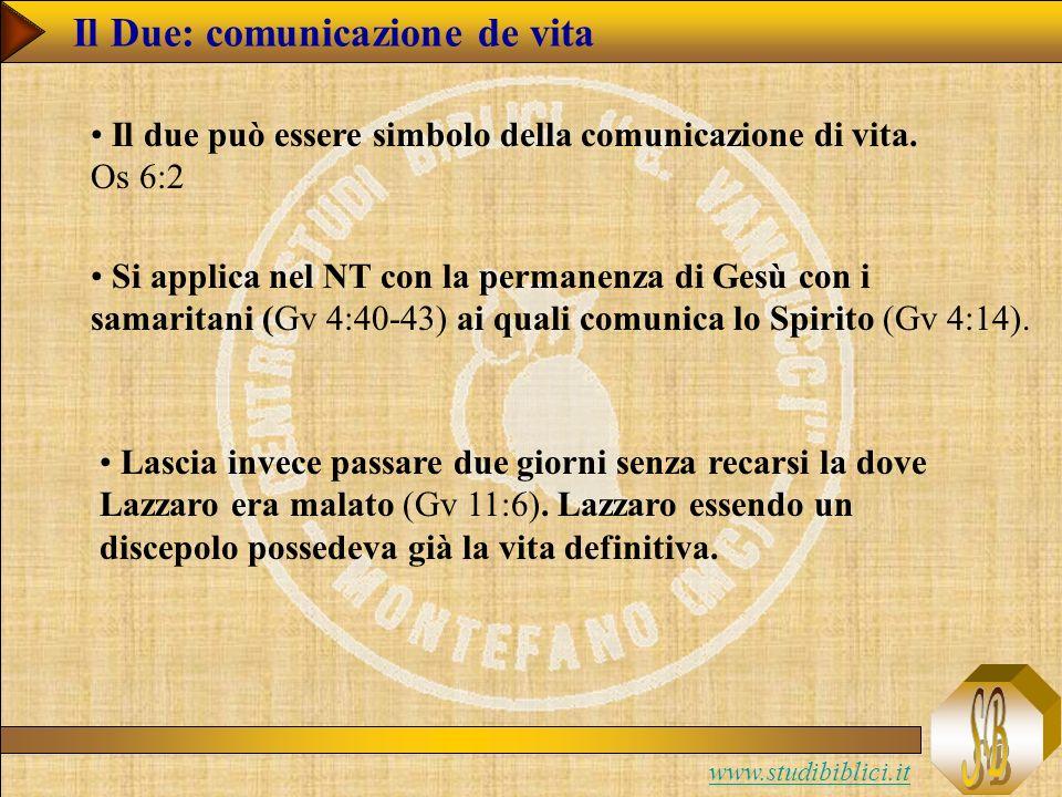 Il Due: comunicazione de vita