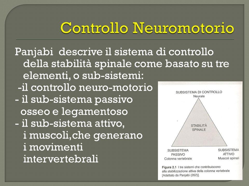 Controllo Neuromotorio