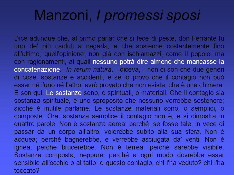 Manzoni, I promessi sposi