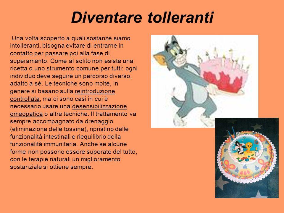 Diventare tolleranti
