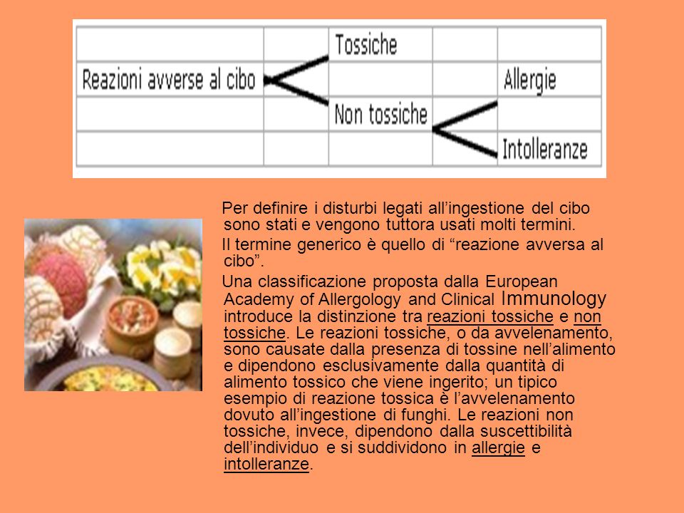 Per definire i disturbi legati all'ingestione del cibo sono stati e vengono tuttora usati molti termini.