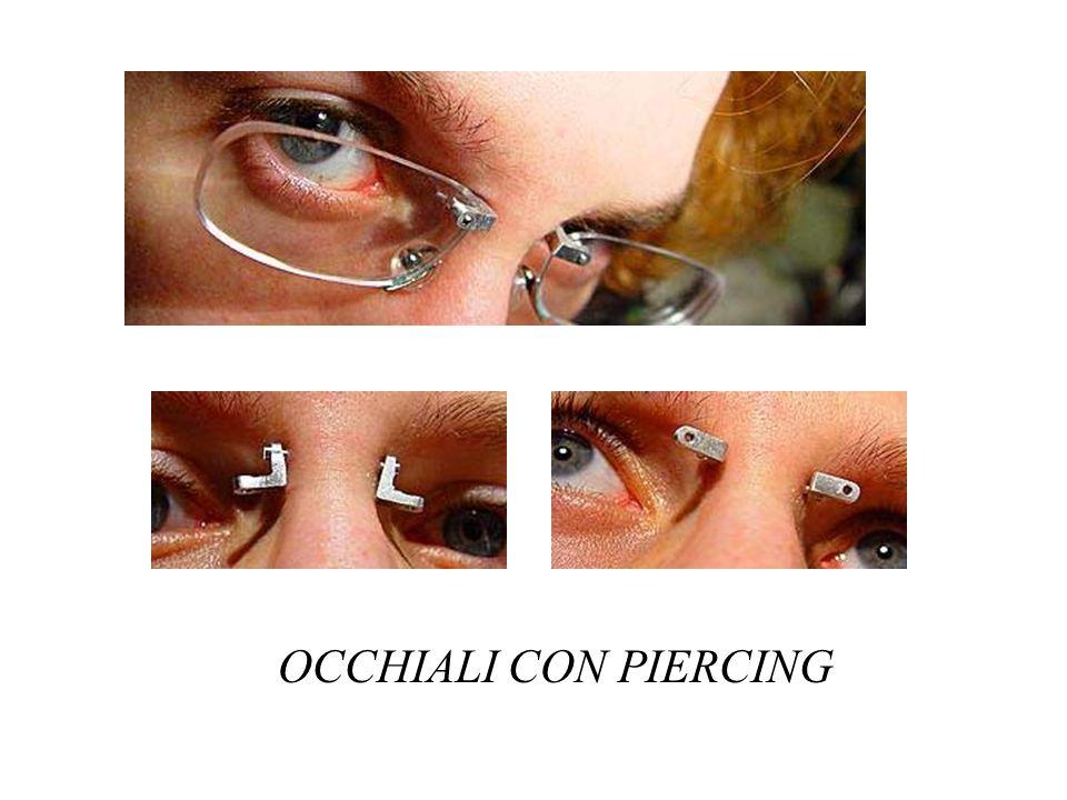 OCCHIALI CON PIERCING