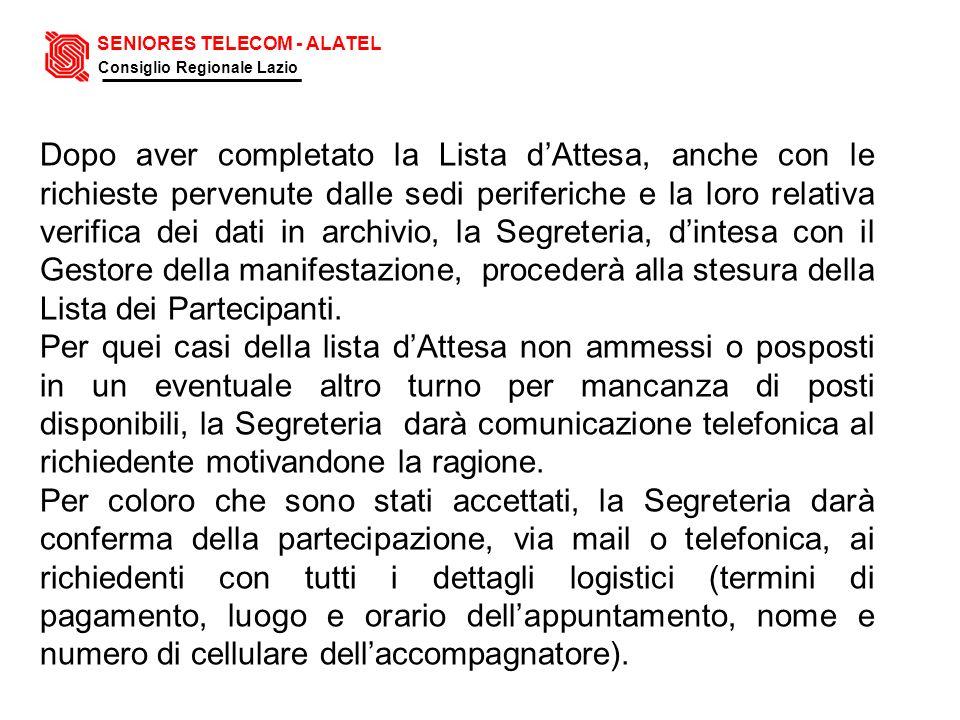 SENIORES TELECOM - ALATEL